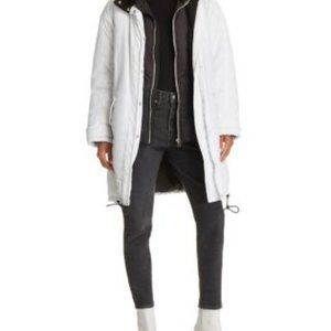 IRO Experience White Winter Puff Coat